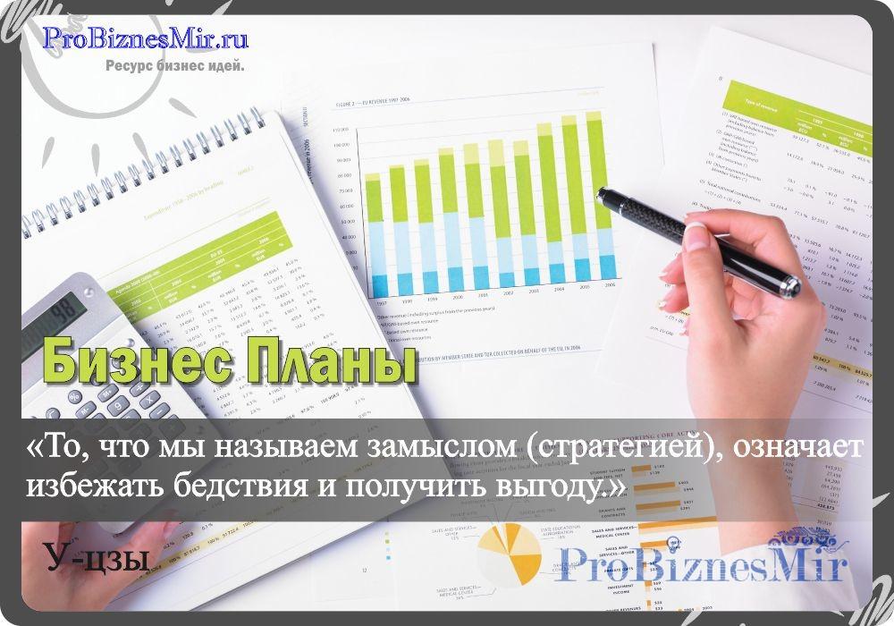 содержание бизнес планы