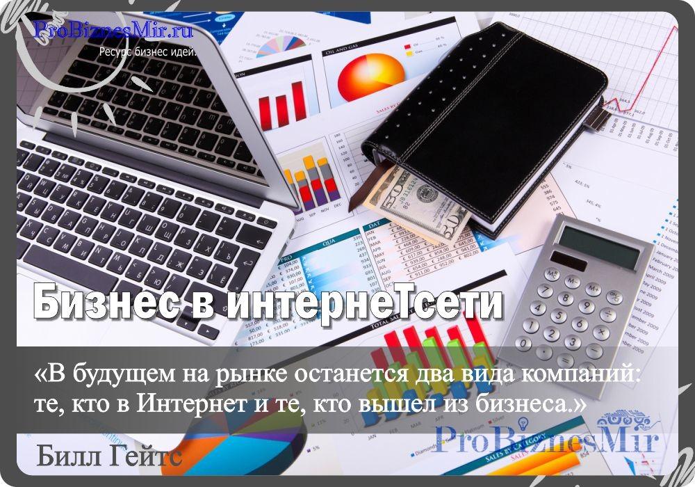 содержание бизнес в интернет сети